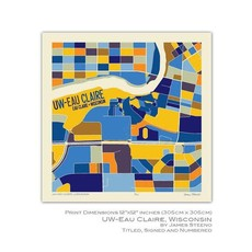 James Steeno UW-Eau Claire Art 12x12