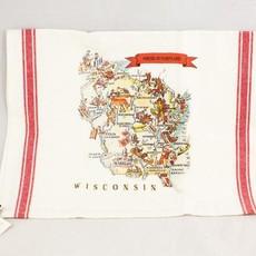 Volume One Vintage Wisconsin Kitchen Towel