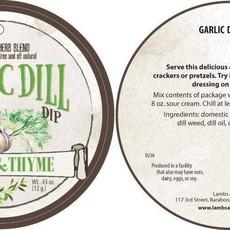 Lambs & Thyme Herb Blend - Garlic Dill Dip