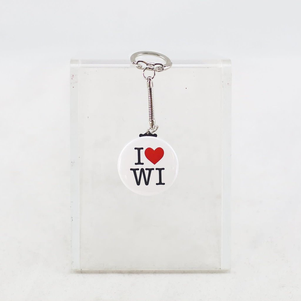 Volume One Keychain - I Heart WI