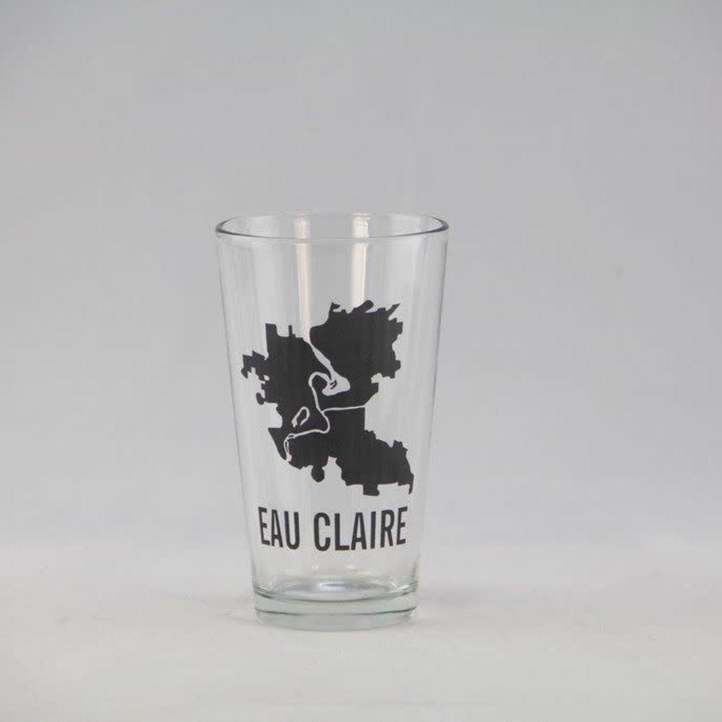 Volume One Eau Claire Boundaries Pint Glass