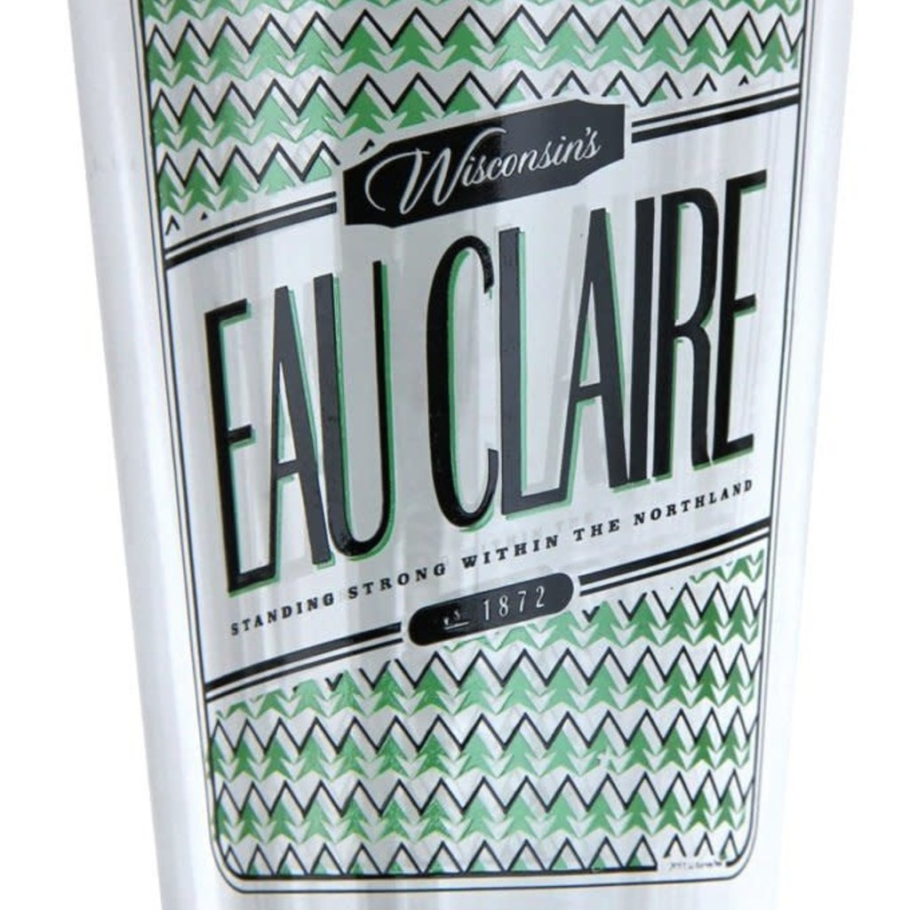Volume One Eau Claire Woods & Water Series - Trees Pint Glass