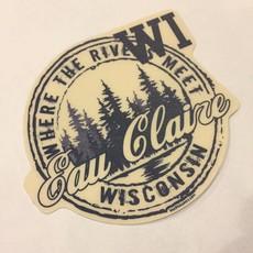 Volume One Sticker - Eau Claire Pines