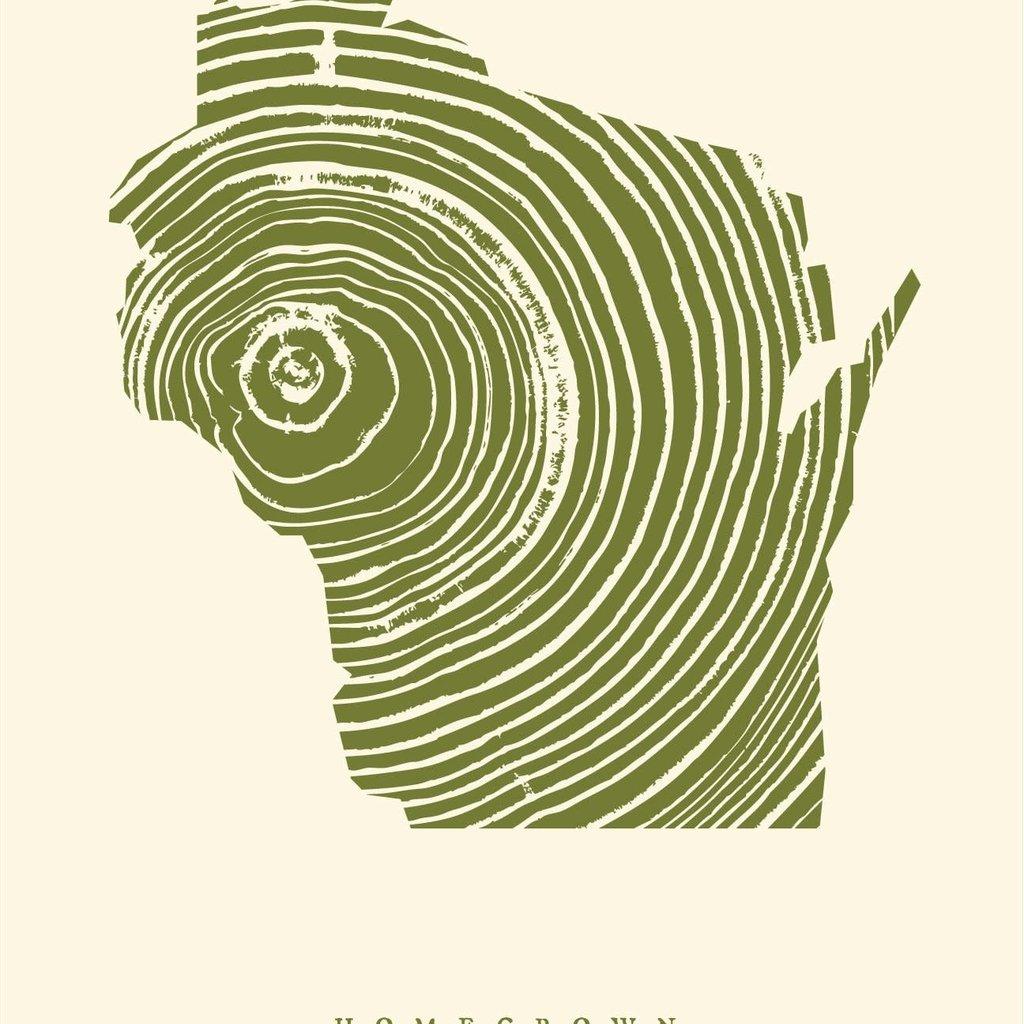 Volume One Homegrown Wisconsin Print 18x24