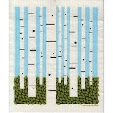Volume One Swedish Dishcloth - Birch Forest