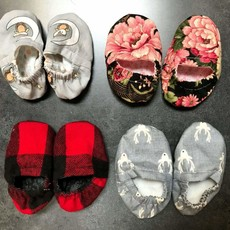 Gail Ryan Baby Bootie Slippers (Assorted)