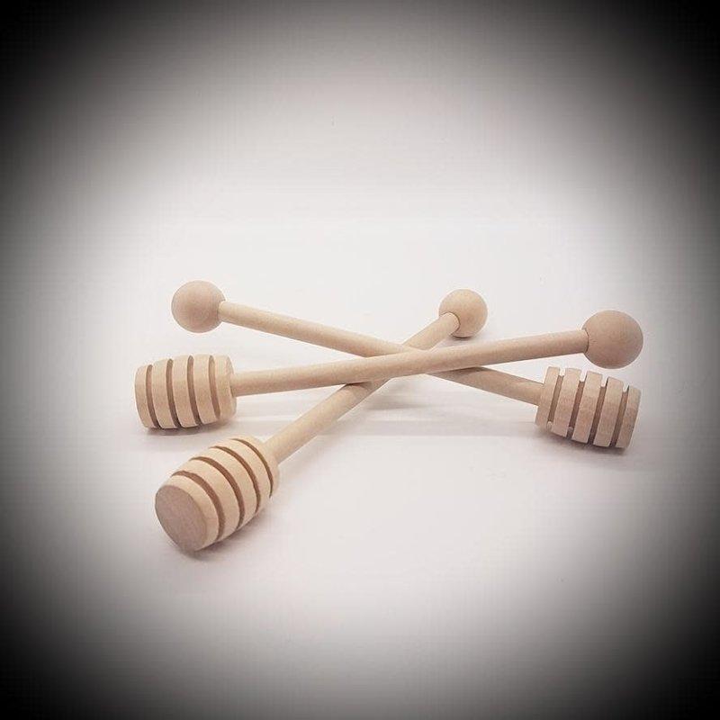 "The Muddy Feet Forty Wood Honey Dipper (6"")"