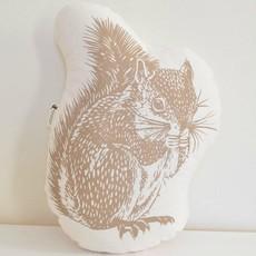 Volume One Pillow - Squirrel (Brown)