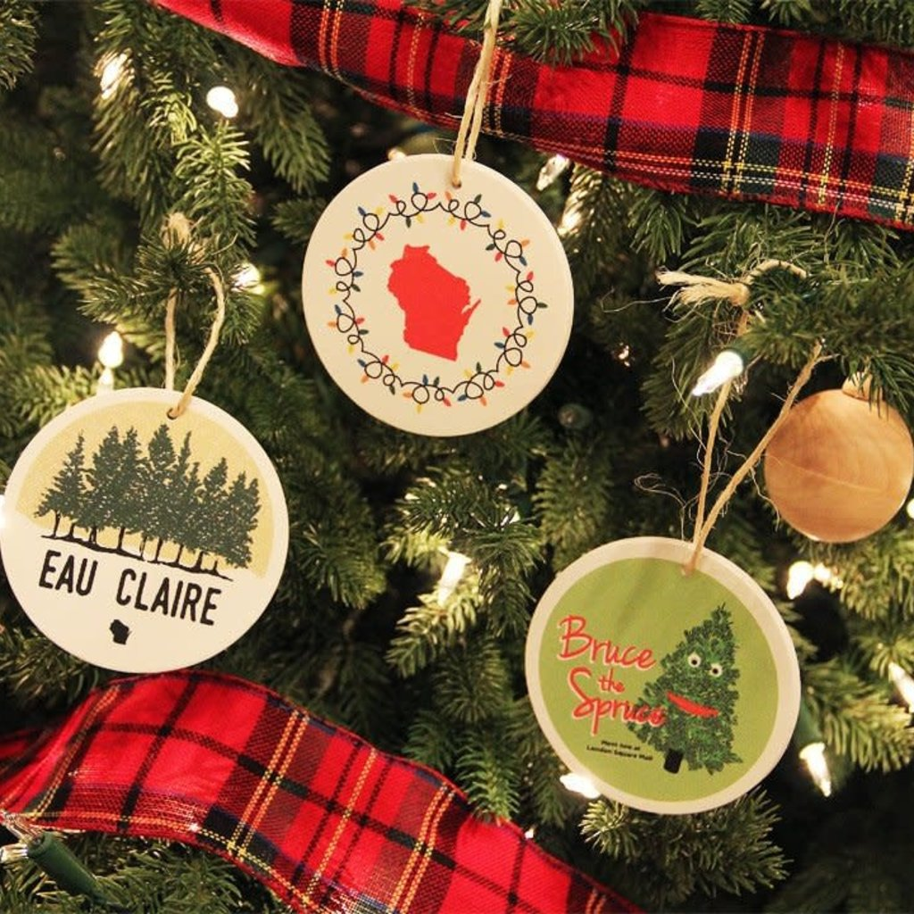 Volume One Ornament - Bruce the Spruce