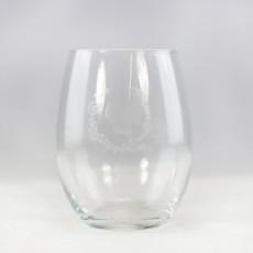 Volume One Stemless Wine Glass - WI Wreath
