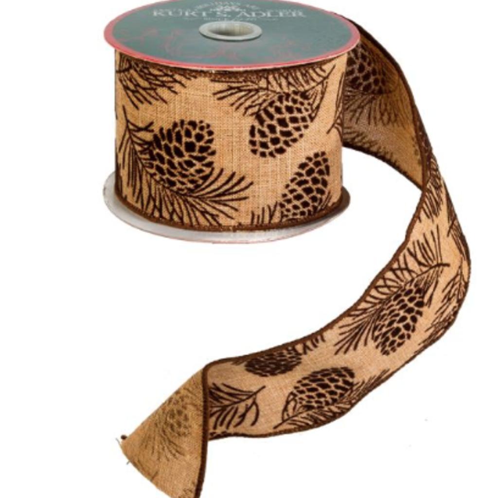 Volume One Holiday Ribbon - Pinecone