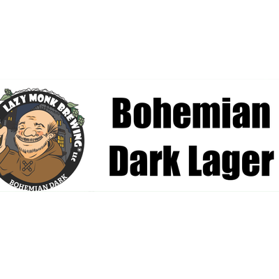 Lazy Monk Brewing Lazy Monk Beer - Bohemian Dark Lager (16 oz.)