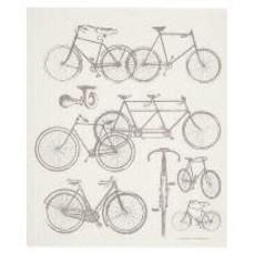 Volume One Swedish Dishcloth - Bicycles