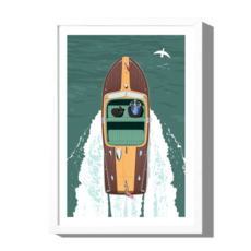 Roo Kee Roo Boat Print