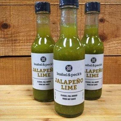 Bushel & Peck's Hot Sauce - Jalepeno Lime (5 oz.)