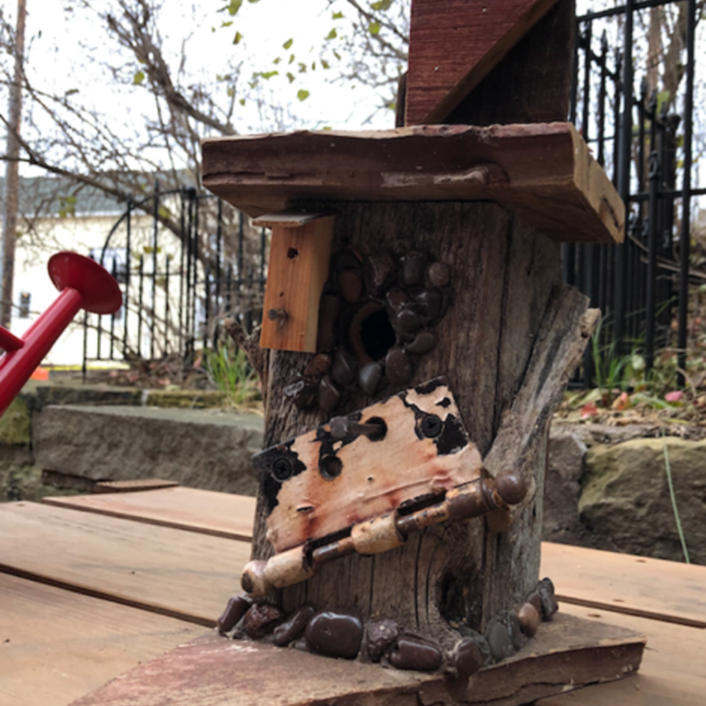 Nature's Art (Jeremy Traynor) Eclectic Bird House - Medium (Assorted)