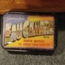 Volume One Lapel Pin - Vintage Eau Claire