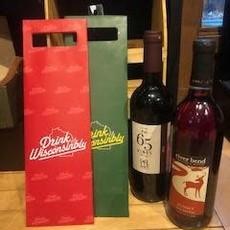 Drink Wisconsinbly Wine Bag - Drink Wisco (Assorted)