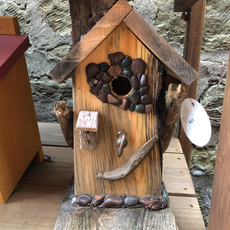 Nature's Art (Jeremy Traynor) Eclectic Bird House - Small (Assorted)