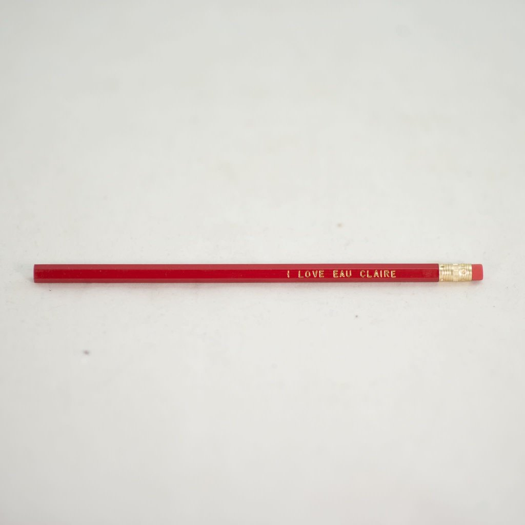Volume One Pencil - I Love Eau Claire