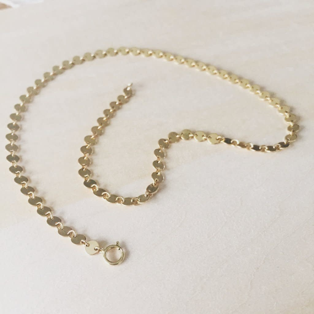 Adorn Jewelry Confetti Choker - Silver