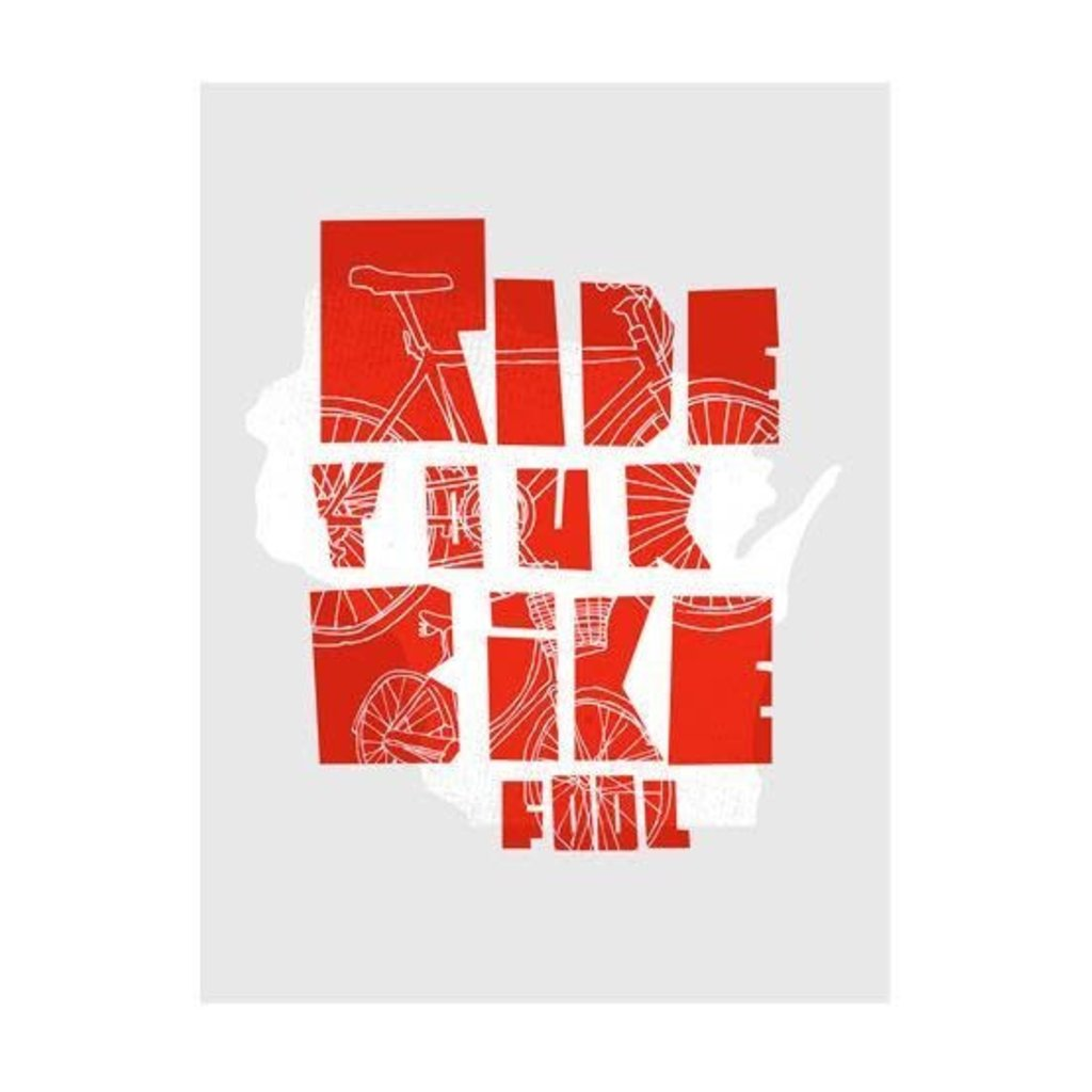 The Social Department Ride Your Bike Print