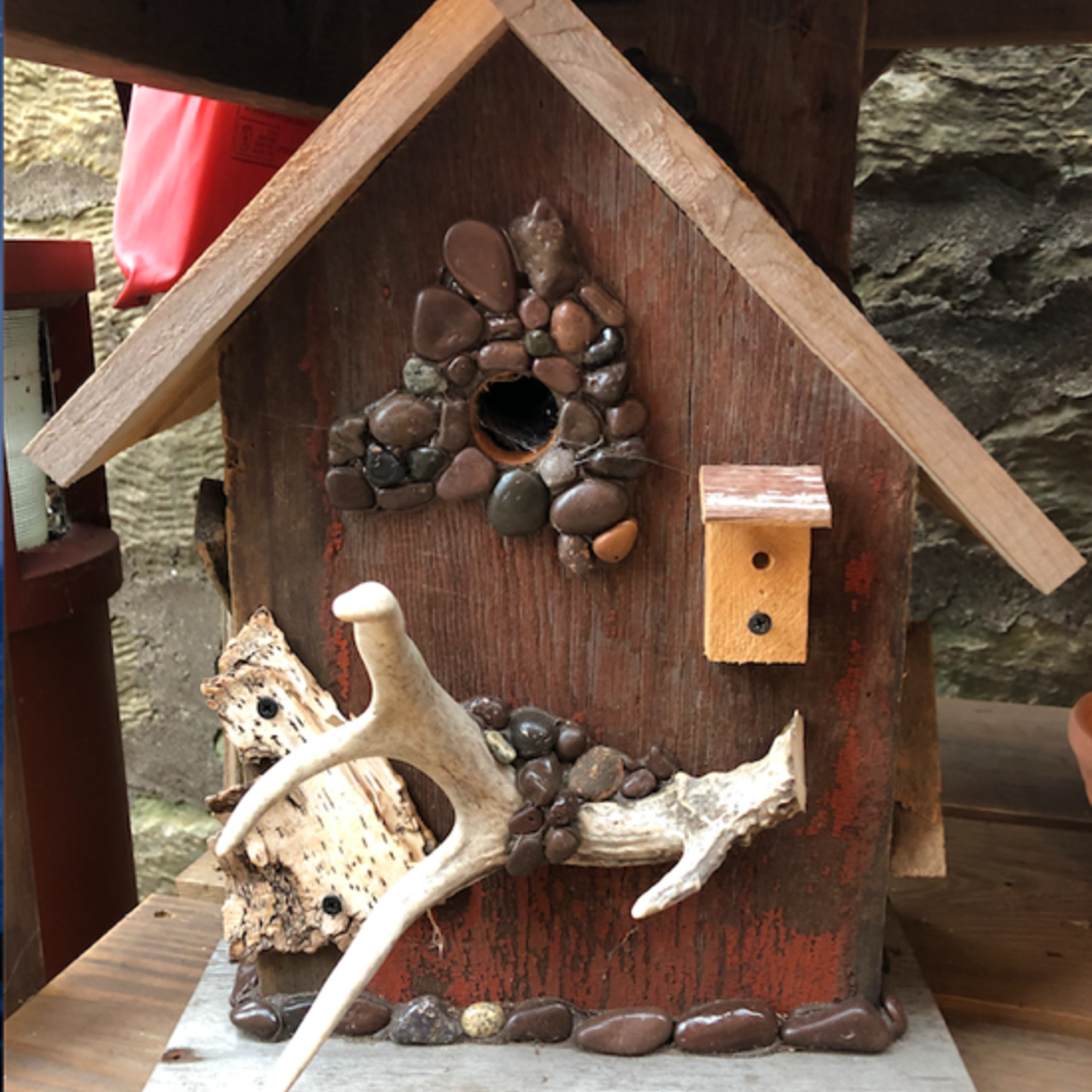 Nature's Art (Jeremy Traynor) Eclectic Bird House - Large (Assorted)