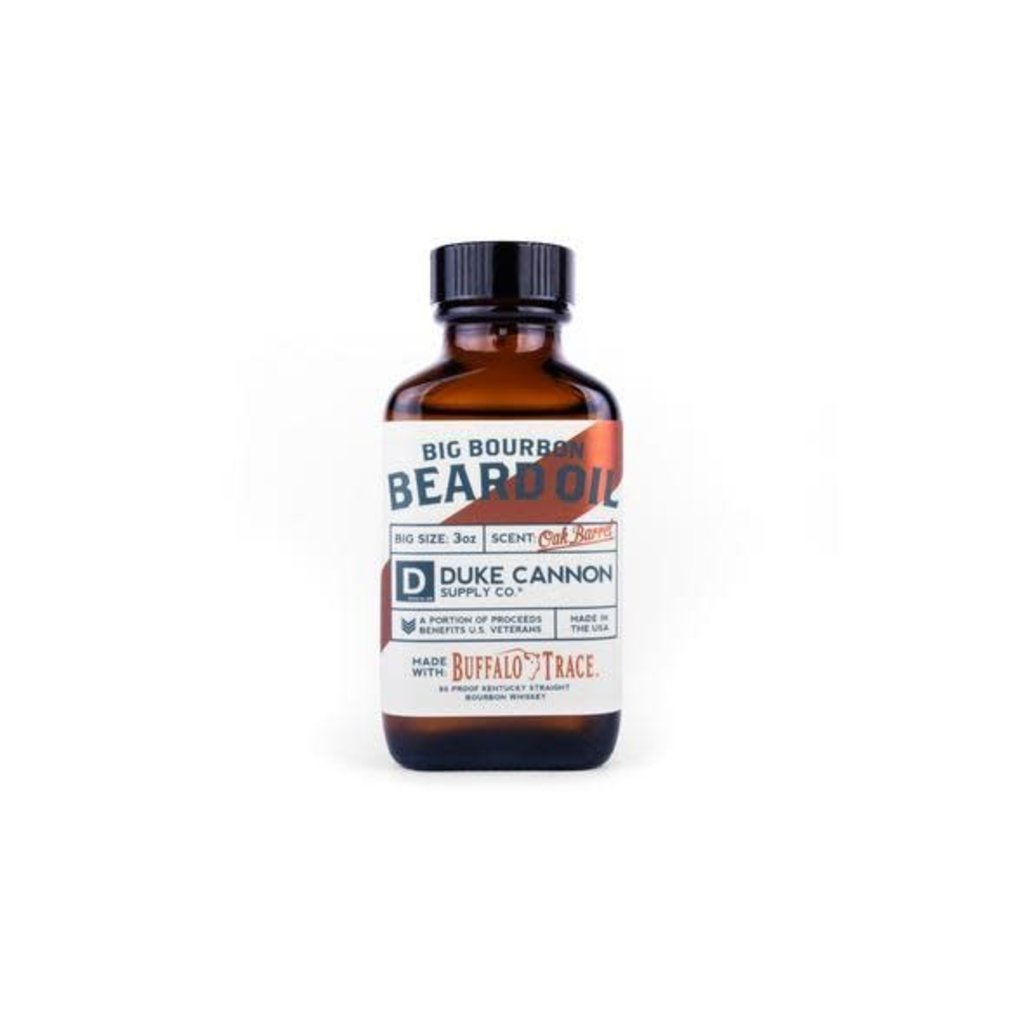 Duke Cannon Supply Co. Big Bourbon Beard Oil