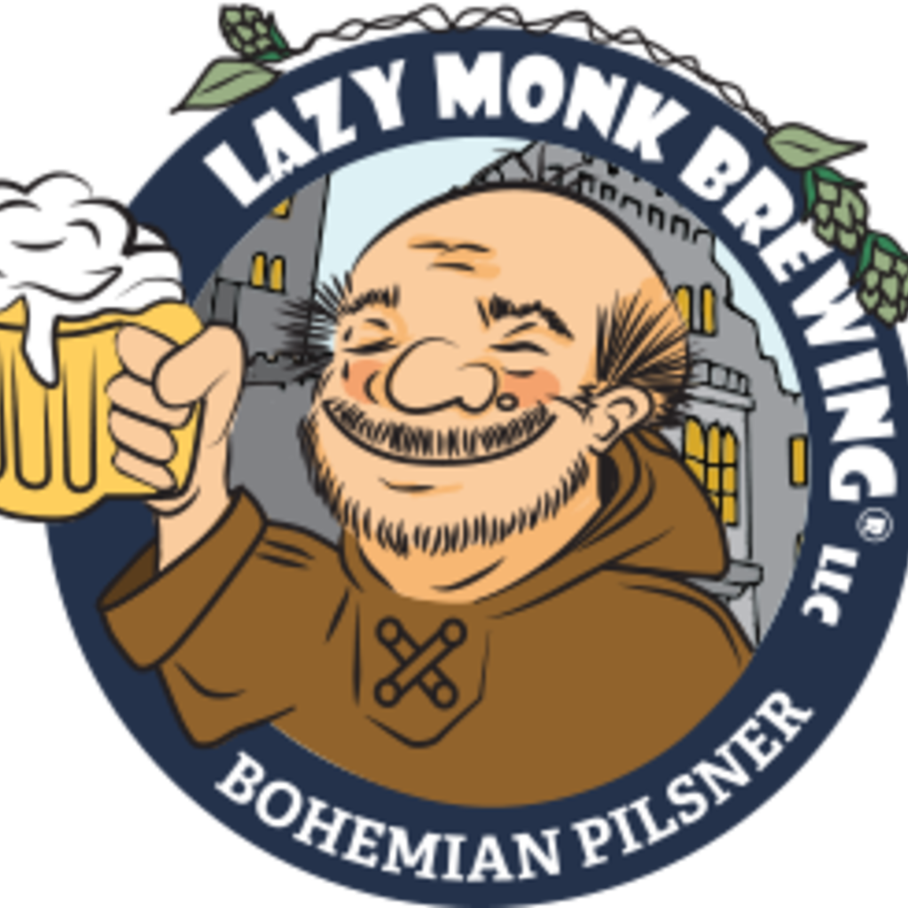 Lazy Monk Brewing Lazy Monk Beer - Bohemian Pilsner Can (16 oz.)