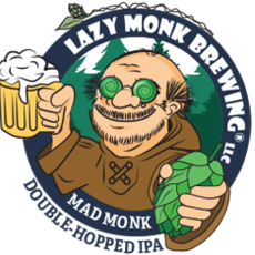 Lazy Monk Brewing Lazy Monk Beer - Mad Monk IPA Can (16 oz.)