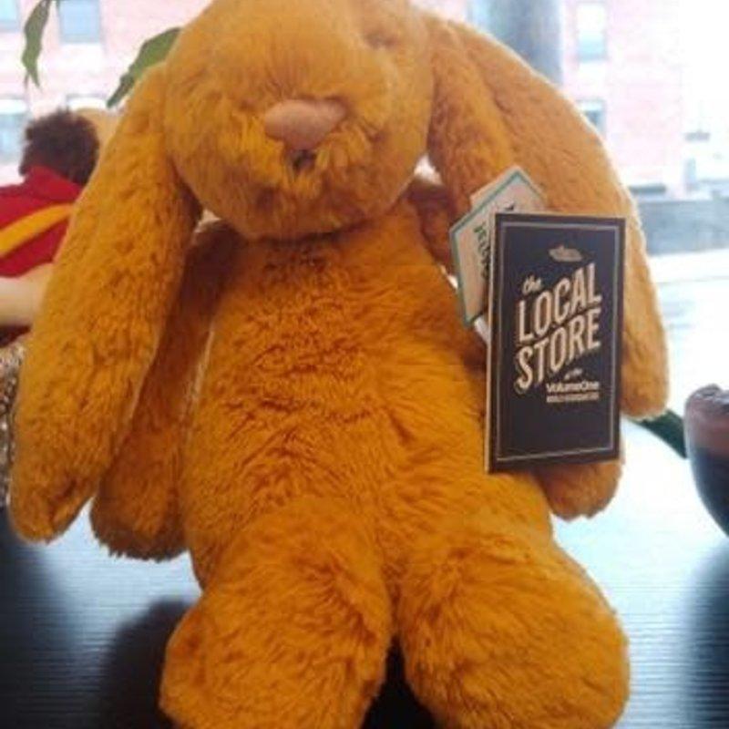 Jelly Cat Plush Animal - Orange Bunny