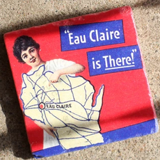 Volume One Marble Magnet - Eau Claire Is There