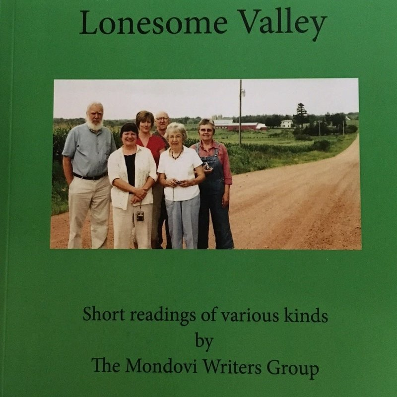 Mondovi Writers Group Goodbye to Lonesome Valley