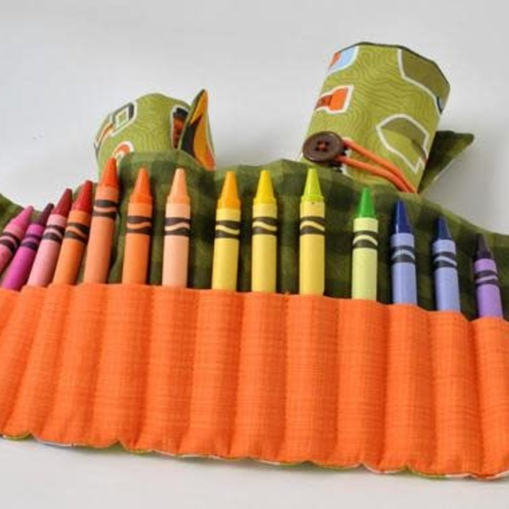 Kiki b Omi Designs Camp Crayon Roll
