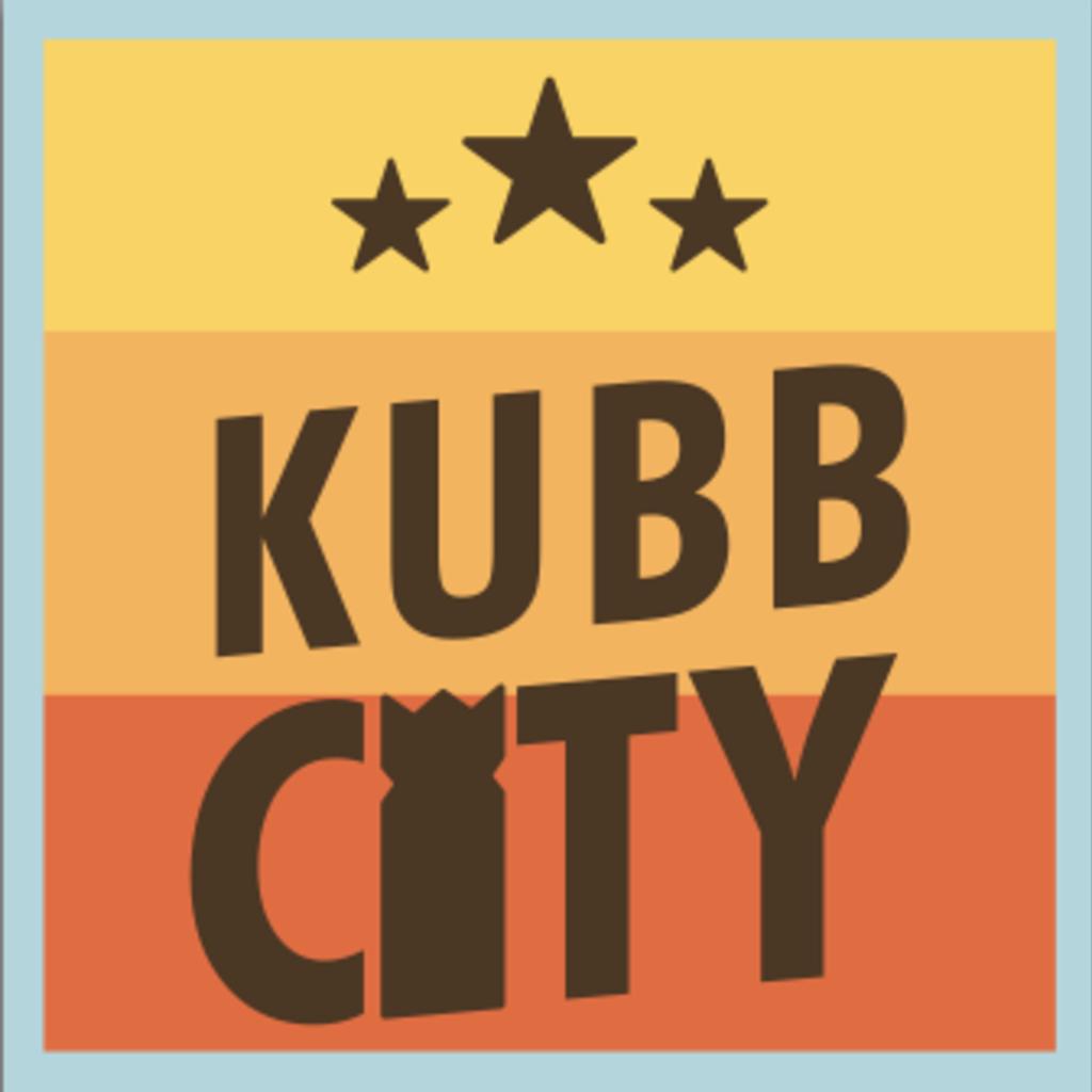 Volume One Sticker - Kubb City
