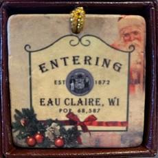 Volume One Entering Eau Claire Ornament