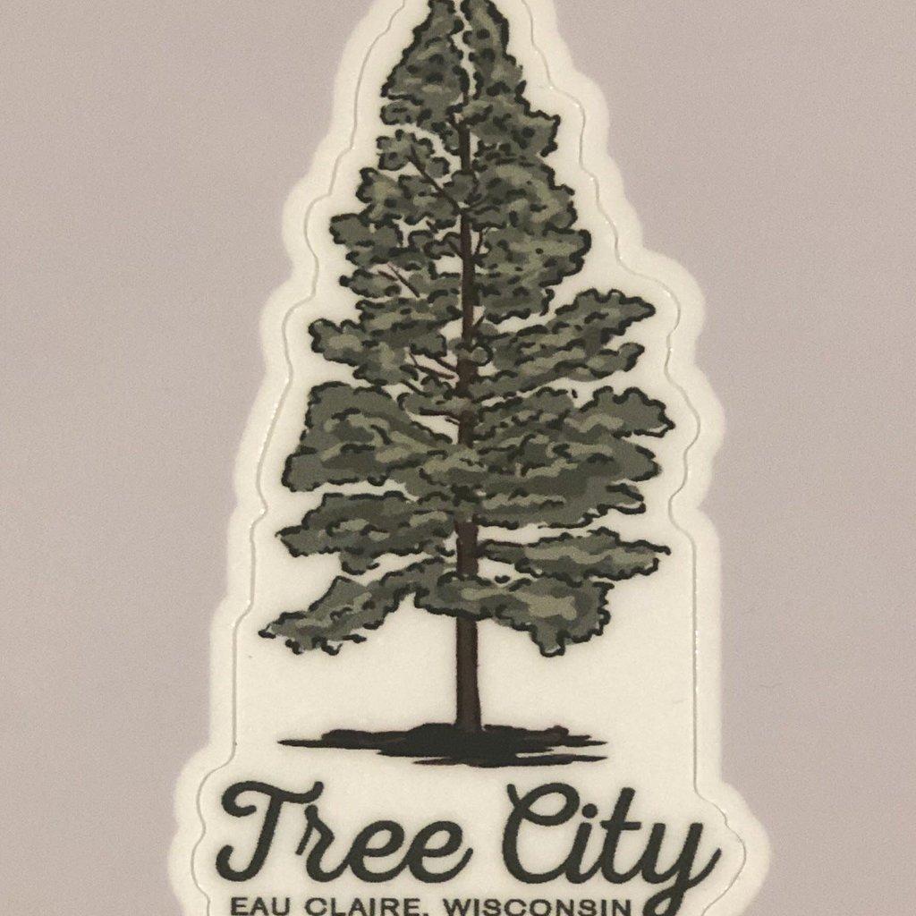 Volume One Die-Cut Sticker - Tree City