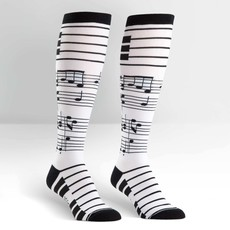 Volume One Knee High Socks - Music