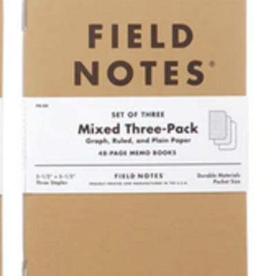 Volume One Field Notes - Mixed Three Pack