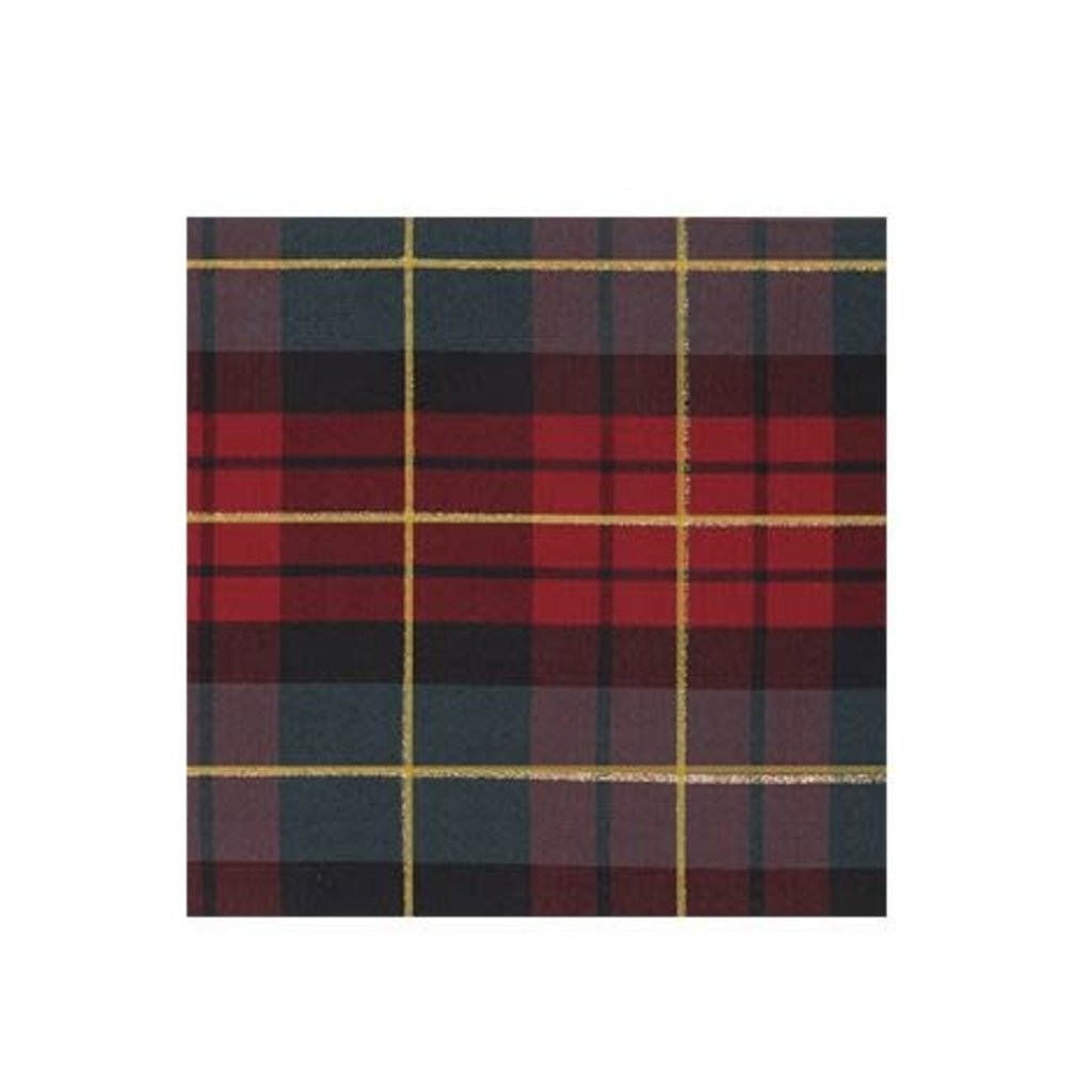 Volume One Cocktail Napkin - Traditional Check
