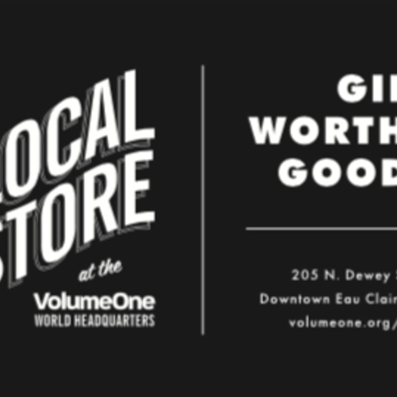 Volume One Local Store Gift Card (In-Store Use Only)