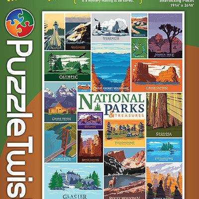 Puzzle Twist National Parks - 1,000 Piece Puzzle