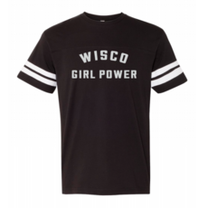 Volume One Wisco Girl Power Tee - Ladies