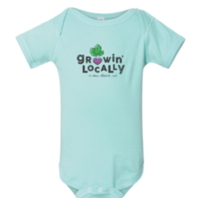Volume One Onesie - Growin' Locally (Eau Claire)