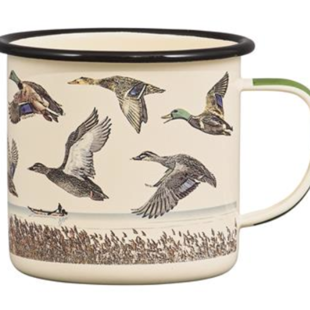 Volume One Enamel Mug - Lake & Ducks