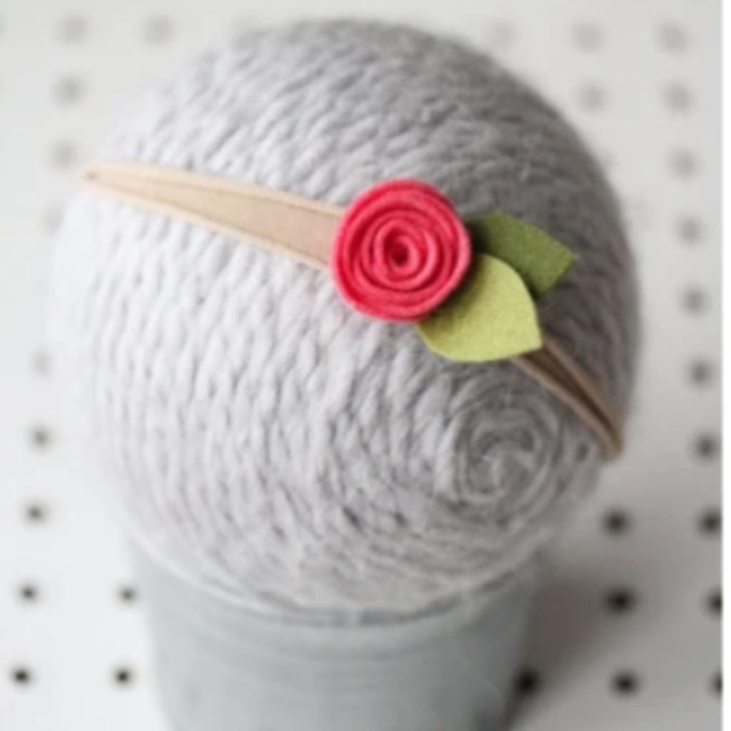 Periwinkle Jane Flower Headband