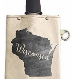 Volume One Canvas Flask - Wisconsin 8oz