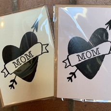 Lydia Tradewell Mother's Day Greeting Card (Mom Heart)