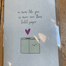 Lydia Tradewell Mother's Day Greeting Card (Toilet Paper)