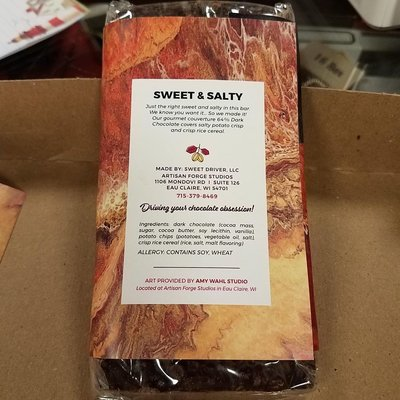 Sweet Driver Chocolates Sweet & Salty Bar (Assorted Milk & Dark)